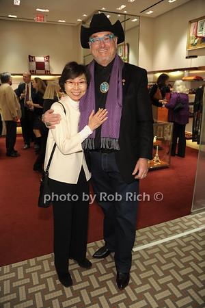 Veronica Tsang, Artie Stein photo by Rob Rich/SocietyAllure.com © 2014 robwayne1@aol.com 516-676-3939