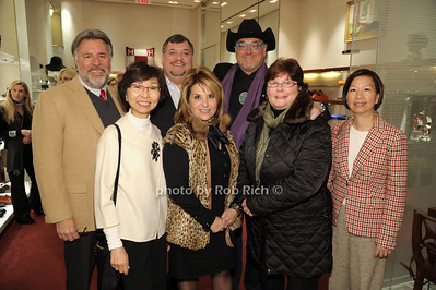 (front)Veronica Tsang, Angela Lostritto, Mary Reardon, May Tong (back) Robbie Donno, Frank Macchio, Artie Stein photo by Rob Rich/SocietyAllure.com © 2014 robwayne1@aol.com 516-676-3939