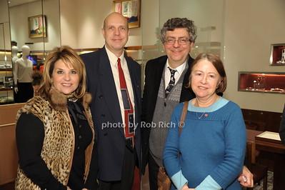 Angela Lostritto,Michael Yurieff, Alex Hindenburg, Maria Hindenburg photo by Rob Rich/SocietyAllure.com © 2014 robwayne1@aol.com 516-676-3939