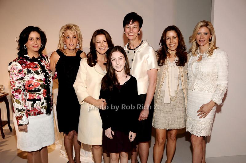 Elyse Newhouse, Michele Sweetwood, Ellen Crown, Alexa Mazus, Karen Peetz, Carolyn Rowan, Michelle Swarzman