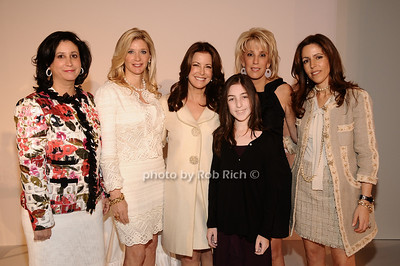 Elyse Newhouse, Michelle Swarzman, Ellen Crown, Alexa Maize, Michele Sweetwood, Carolyn Rowan photo by Rob Rich © 2010 robwayne1@aol.com 516-676-3939