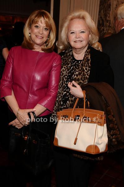 Sande Middleberg, Jane Pontarelli<br /> photo by Rob Rich © 2010 robwayne1@aol.com 516-676-3939