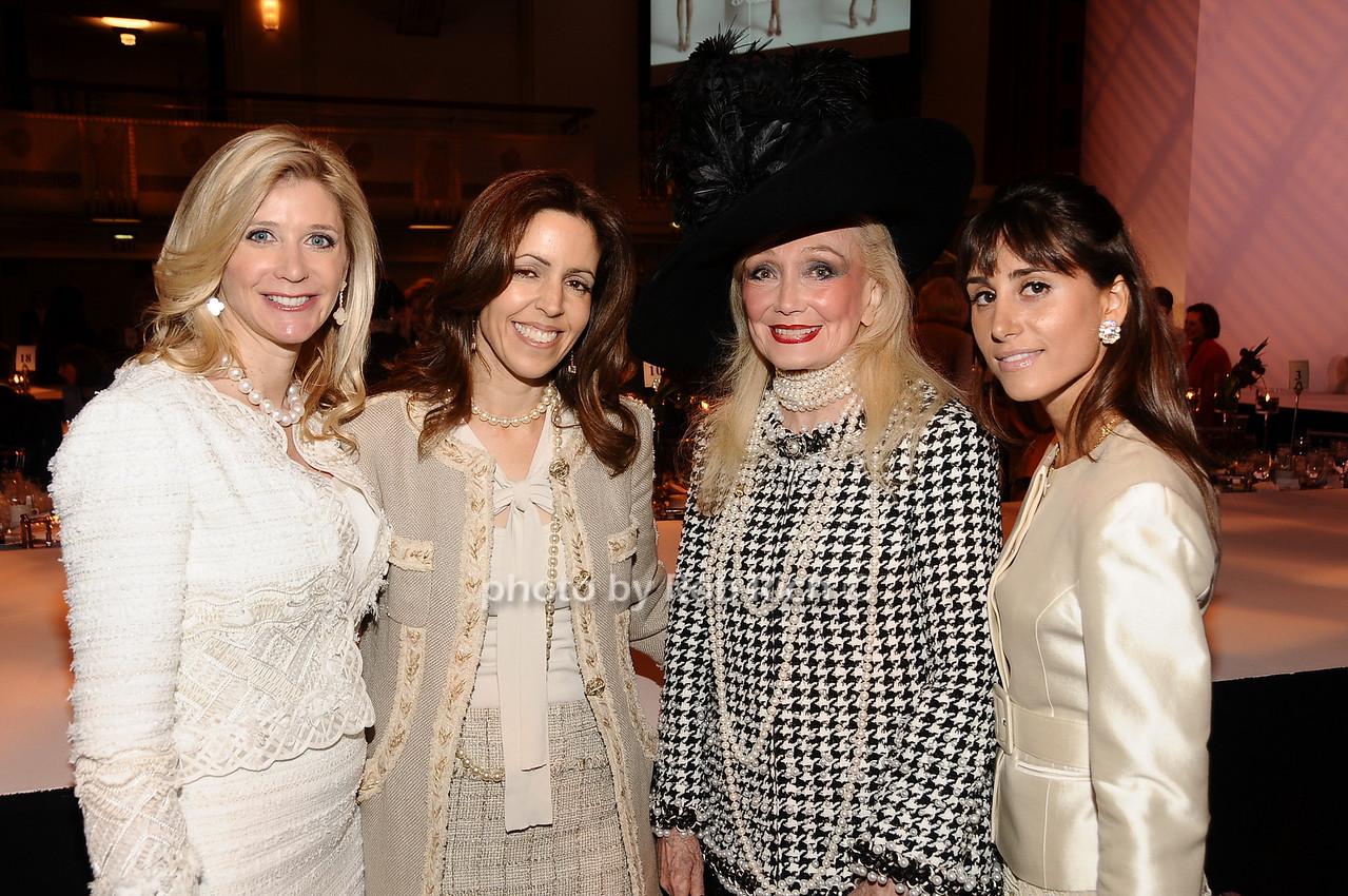 Michelle Swarzman,  Carolyn Rowan, Joy Samuels, Rachel Heller photo by Rob Rich © 2010 robwayne1@aol.com 516-676-3939