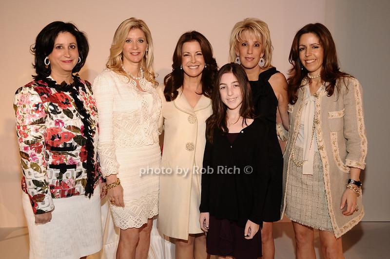 Elyse Newhouse, Michelle Swarzman, Ellen Crown, Alexa Maize, Michele Sweetwood, Carolyn Rowan<br /> photo by Rob Rich © 2010 robwayne1@aol.com 516-676-3939