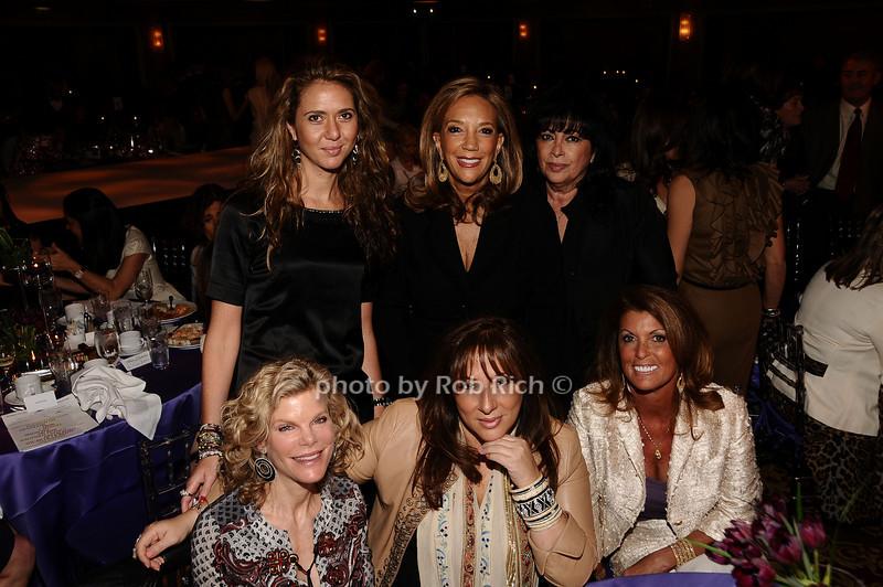 Ofira Sandberg, Denise Rich, Debbie Cohen,<br /> Debbie Dauman, Lorraine Schwartz,Randi Jacobson<br /> photo by Rob Rich © 2010 robwayne1@aol.com 516-676-3939