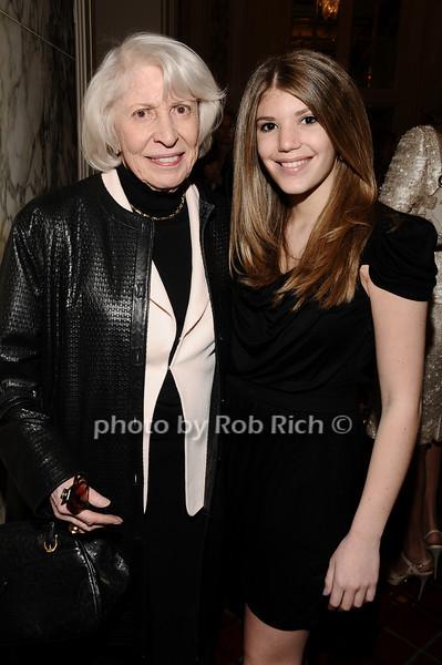 Evelyn Gilman, Adina Volimovsky<br /> photo by Rob Rich © 2010 robwayne1@aol.com 516-676-3939