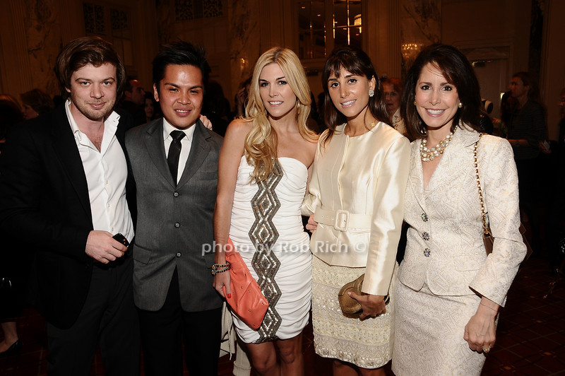 Jonathan Reese, Pj Pascual,Tinsleyt Mortimer, Rachel Heller, Suzanne Bakst<br /> photo by Rob Rich © 2010 robwayne1@aol.com 516-676-3939