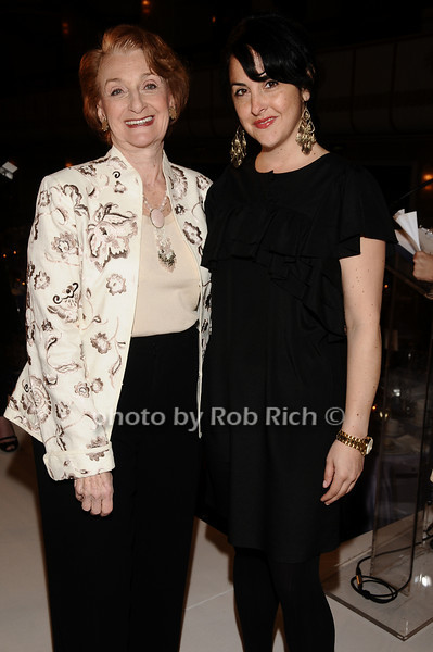 Inez Weinstein, Tracey Doolin<br /> photo by Rob Rich © 2010 robwayne1@aol.com 516-676-3939