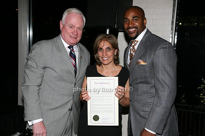 Senator Martin Golden, Joyce Mattera, David Tyree