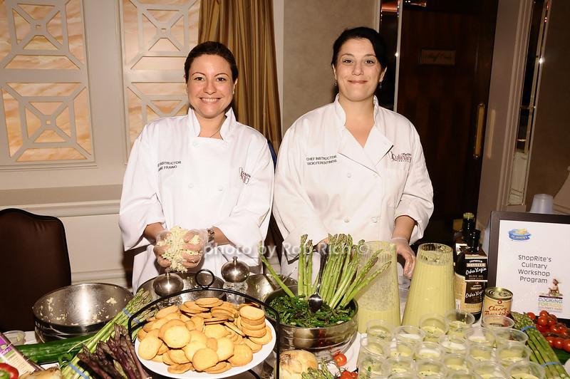 Janine Franino, Vicki Ferentinos ( Shop Rite Culinary)<br /> <br /> photo by Rob Rich © 2010 robwayne1@aol.com 516-676-3939