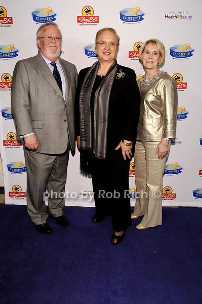 William McDonald, Lidia Bastianich, Johnnie McDonald<br /> <br /> photo by Rob Rich © 2010 robwayne1@aol.com 516-676-3939