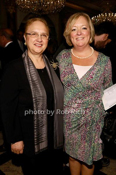 Lidia Bastianich, Liz Regula<br /> <br /> photo by Rob Rich © 2010 robwayne1@aol.com 516-676-3939