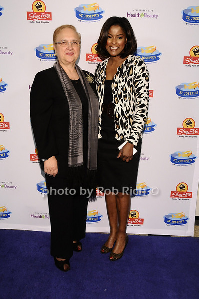 Lidia Bastianich, Lori Stokes<br /> <br /> photo by Rob Rich © 2010 robwayne1@aol.com 516-676-3939