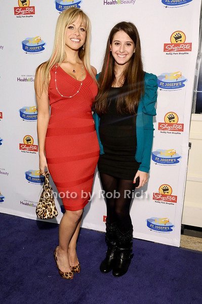 Dina Manzo, Lexi Manzo<br /> <br /> photo by Rob Rich © 2010 robwayne1@aol.com 516-676-3939