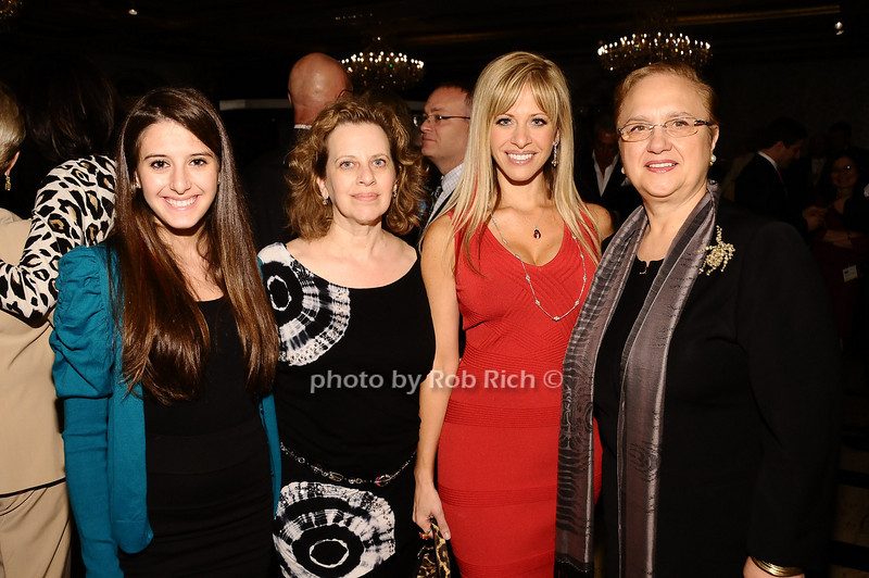 Lexi Manzo, Cookie Rooney, Lexi Manzo, Lidia Bastianich<br /> <br /> photo by Rob Rich © 2010 robwayne1@aol.com 516-676-3939