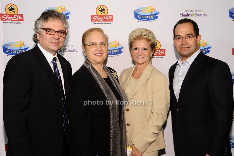 Dr.Michael Lamacchia, Lidia Bastianich, Bianca Emmolo, Dean  Emmolo <br /> <br /> photo by Rob Rich © 2010 robwayne1@aol.com 516-676-3939