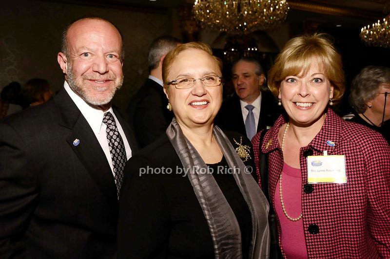 Marc Rosenberg, Lidia Bastianich, Lynn Rosenberg<br /> <br /> photo by Rob Rich © 2010 robwayne1@aol.com 516-676-3939