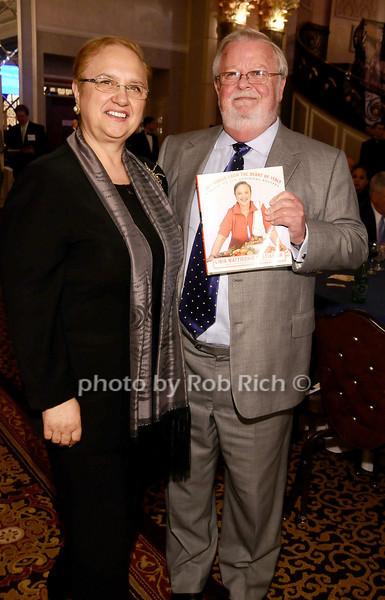 Lidia Bastianich, William McDonald<br /> <br /> photo by Rob Rich © 2010 robwayne1@aol.com 516-676-3939