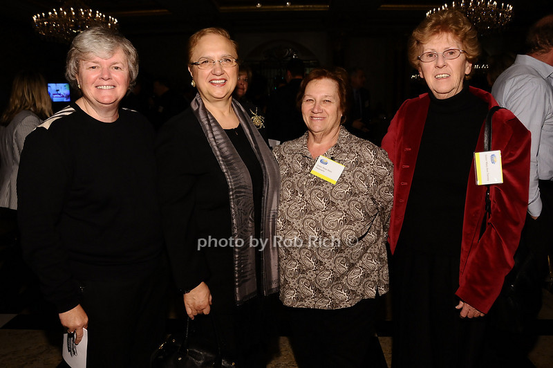 Sister Patrica Cody, Lidia Bastianich, Sister Rosemarie Padovano, Sister Maryann Tierney<br /> <br /> photo by Rob Rich © 2010 robwayne1@aol.com 516-676-3939