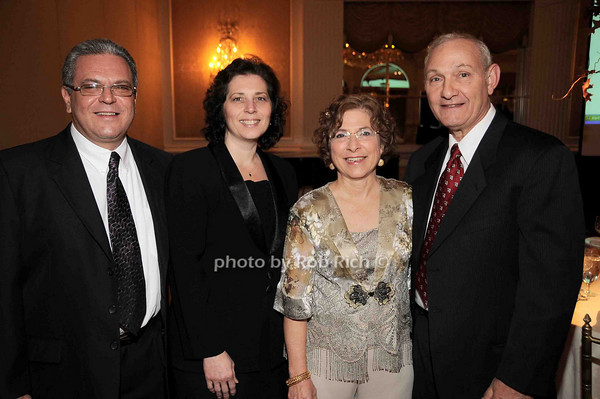 Joe Cannizzaro, Nadia Cannizzaro, Grace Calderone, Frank Calderone<br /> photo by Rob Rich © 2009 robwayne1@aol.com 516-676-3939
