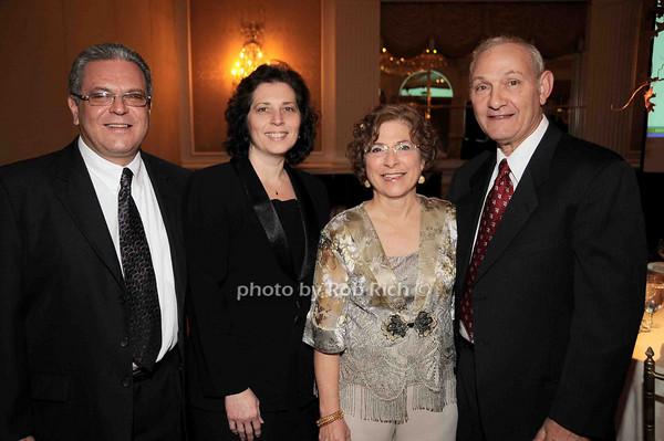Joe Cannizzaro, Nadia Cannizzaro, Grace Calderone, Frank Calderone<br /> photo by Rob Rich © 2009 robwayne1@aol.com 516-676-3939