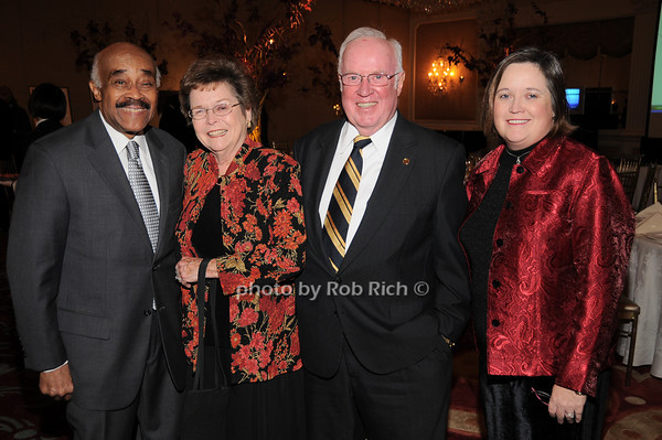 Dr. Abraham Ward, Arline Dowd, John Dowd, Karen Dowd<br /> photo by Rob Rich © 2009 robwayne1@aol.com 516-676-3939