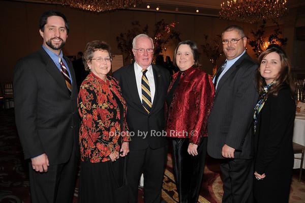 Peter Ryan, Arline Dowd, John Dowd, Karen Dowd, Tim Connelly, Karen Dowd Ryan<br /> photo by Rob Rich © 2009 robwayne1@aol.com 516-676-3939