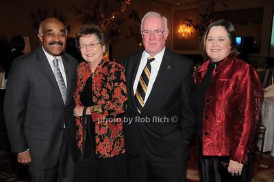 Dr. Abraham Ward, Arline Dowd, John Dowd, Karen Dowd photo by Rob Rich © 2009 robwayne1@aol.com 516-676-3939