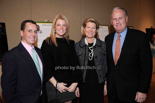 Jim Kenny, Colleen Kenny, Helen Fell, Keith Fell<br /> photo by Rob Rich © 2009 robwayne1@aol.com 516-676-3939