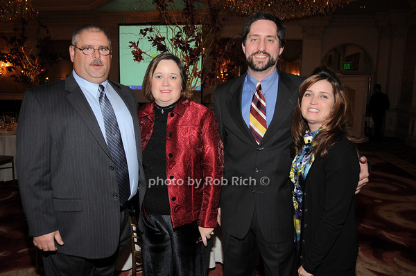 Tim Connelly, Karen Dowd, Pete Ryan, Tara Dowd Ryan<br /> photo by Rob Rich © 2009 robwayne1@aol.com 516-676-3939