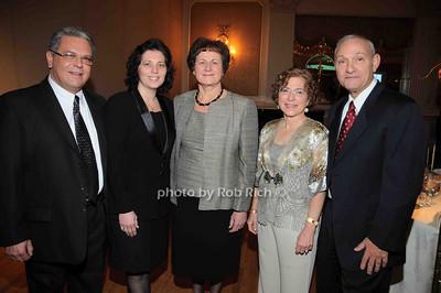 Joe Cannizzaro, Nadia Cannizzaro, Grace LoGrande, Grace Calderone, Frank Calderone photo by Rob Rich © 2009 robwayne1@aol.com 516-676-3939