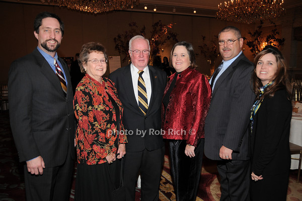 Peter Ryan, Arline Dowd, John Dowd, Karen Dowd, Tim Connelly, Karen Dowd Ryan<br /> photo by Rob Rich © 2009 robwayne1@aol.com 516-676-3939