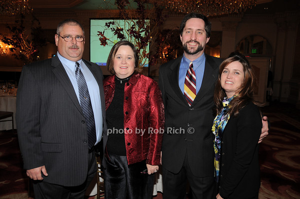 Tim Connelly, Karen Dowd, Pete Ryan, Tara Dowd Ryan<br /> photo by Rob Rich © 2009 robwayne1@aol.com 516-676-3939