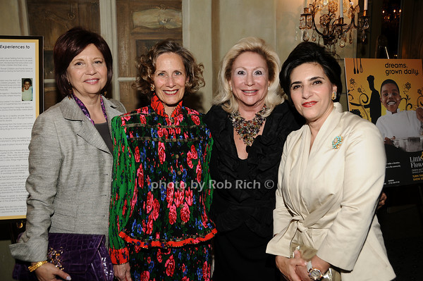 Stacey Sava,  Dr.Christine Wheeler, Margaret Ahnert, Vera Setrakian<br /> photo by Rob Rich © 2010 516-676-3939 robwayne1@aol.com