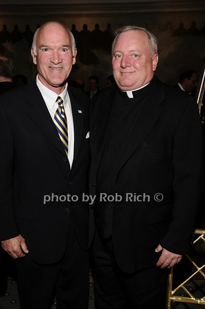 Tom Cullen, Father Pat West photo by Rob Rich © 2010 516-676-3939 robwayne1@aol.com