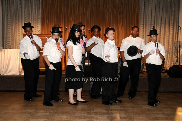 Little Flower Glee Club photo by Rob Rich © 2010 516-676-3939 robwayne1@aol.com