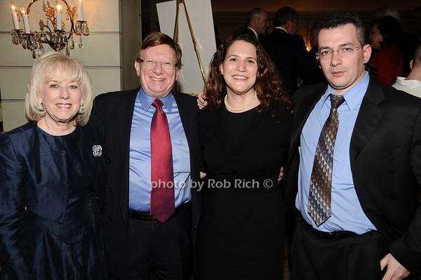 Harriet Polinsky, Myron Altschuler, Jennifer Ecker, Steve Rubinstein photo by Rob Rich © 2010 516-676-3939 robwayne1@aol.com