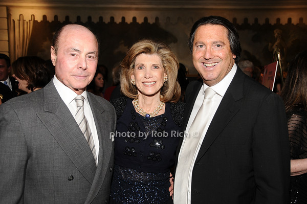 Barry Jacobson, Elinor Wohl, Larry Wohl<br /> photo by Rob Rich © 2010 516-676-3939 robwayne1@aol.com