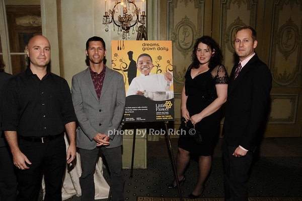 Jason Arzberger, Jeff Diagonale, Christine Bringuez, Troy Mosley<br /> photo by Rob Rich © 2010 516-676-3939 robwayne1@aol.com