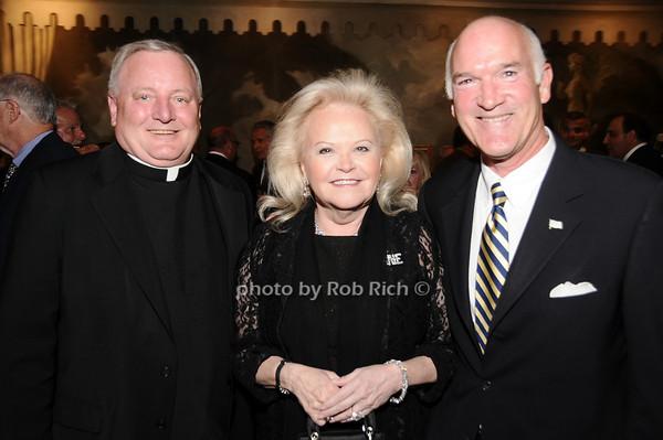 Father Pat West, Jane Pontarelli, Tom Cullen<br /> photo by Rob Rich © 2010 516-676-3939 robwayne1@aol.com