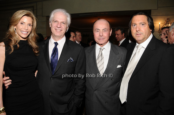 Anna Rose Victor, Steven Victor, Barry Jacobson, Larry Wohl<br /> photo by Rob Rich © 2010 516-676-3939 robwayne1@aol.com