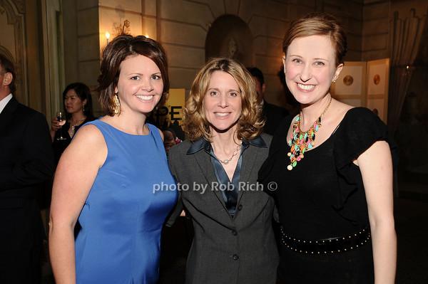 Alyson Gladle, Lynn Macrone, Kate Gressand<br /> photo by Rob Rich © 2010 516-676-3939 robwayne1@aol.com
