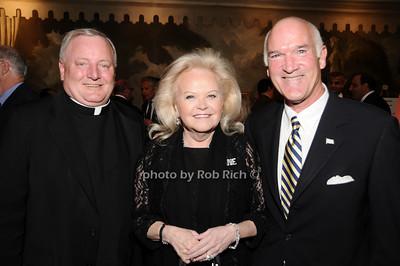 Father Pat West, Jane Pontarelli, Tom Cullen photo by Rob Rich © 2010 516-676-3939 robwayne1@aol.com