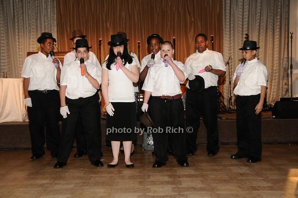 Little Flower Glee Club<br /> photo by Rob Rich © 2010 516-676-3939 robwayne1@aol.com