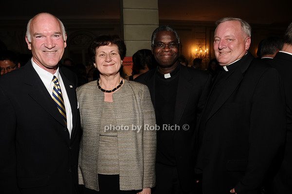 Tom Cullen, Grace LoGrande, Father Paul Jervis, Father Pat West<br /> photo by Rob Rich © 2010 516-676-3939 robwayne1@aol.com