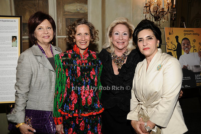 Stacey Sava,  Dr.Christine Wheeler, Margaret Ahnert, Vera Setrakian photo by Rob Rich © 2010 516-676-3939 robwayne1@aol.com