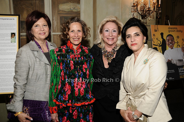 Stacey Sava,  Dr.Christine Wheeler, Margaret Ahnert, Vera Setrakian<br /> photo by Rob Rich © 2010 516-676-3939 robwayne1@aol.com