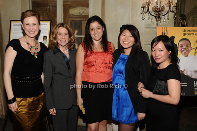 Kate Gressand, Lynn Macrone, Colleen McGins, Jolene Celisle, , Lisa Lim photo by Rob Rich © 2010 516-676-3939 robwayne1@aol.com