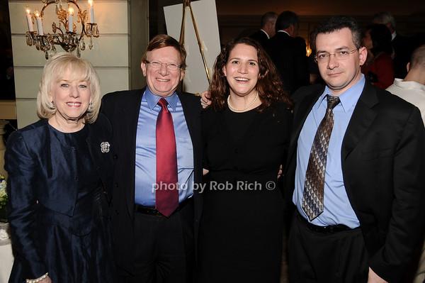 Harriet Polinsky, Myron Altschuler, Jennifer Ecker, Steve Rubinstein<br /> photo by Rob Rich © 2010 516-676-3939 robwayne1@aol.com