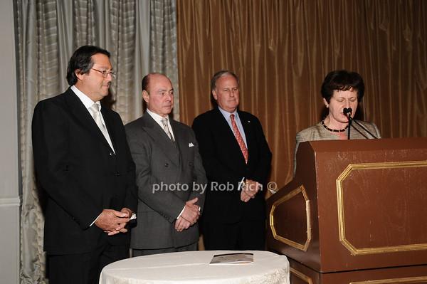 Larry Wohl, Barry Jacobson, Ketih Fell, Grace LoGrande<br /> photo by Rob Rich © 2010 516-676-3939 robwayne1@aol.com